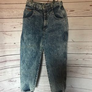 Vintage Gitano Stone Wash Jeans Size 16 Short